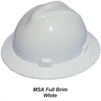 Helm Safety MSA Original USA Full Brim